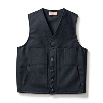 Mackinaw Wool Vest - Extra Long Fit