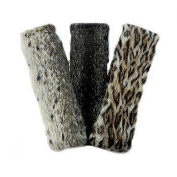 Faux Animal Headband with Velcro
