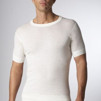 Super Wash Wool Short Sleeve
