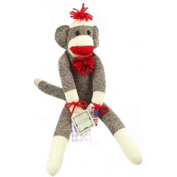 Original Socky Monkey 20 in. tall