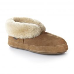 Acorn Slippers and Socks - Sheepskin Bootie II For Men
