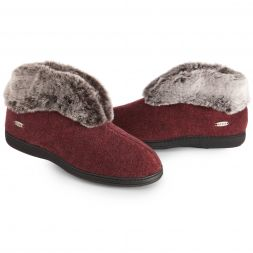 Acorn Slippers and Socks - Chinchilla Bootie For Women