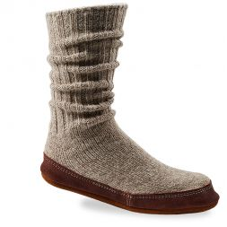 Acorn Slippers and Socks - Unisex Slipper Sock