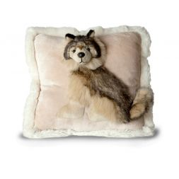 - 12 in. Pillow Pals (Wolf)