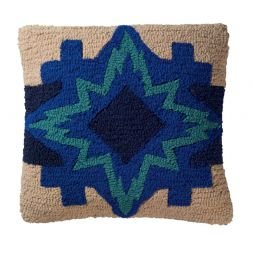 Pendleton Woolen Mills - North Star - Hooked Wool Pillow