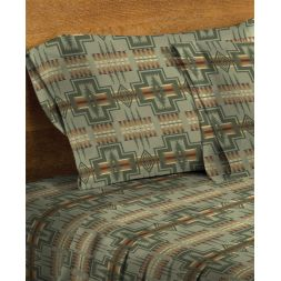 Pendleton Woolen Mills - Harding Flannel Sheets - King