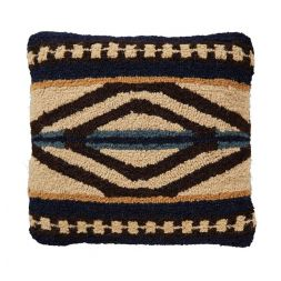 Pendleton Woolen Mills - Rio Canyon - Hooked Wool Pillow