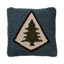Pendleton Woolen Mills - Pine Lodge - Hooked Wool Pillow