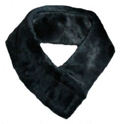- Faux Fur Headband with Velcro
