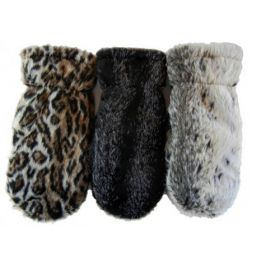 Polar Mitts - Faux Animal Mittens