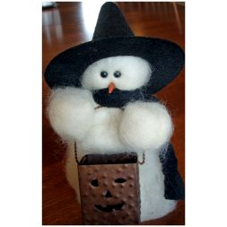 - Tricks Or - Wooly® Primitive Snowman
