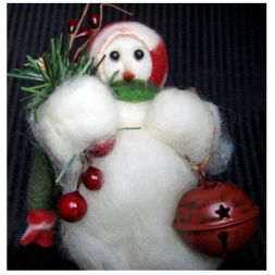 - It's Christmas Time - Wooly® Primitive Snowman