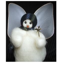 - My Angel -  Wooly® Primitive Snowman