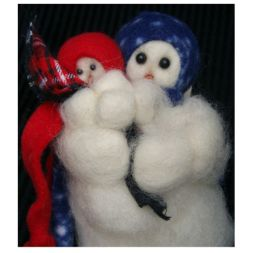 - My Mother's Love - Wooly® Primitive Snowman