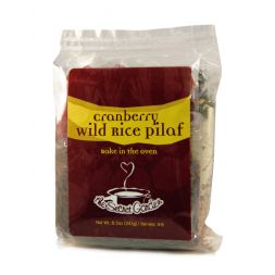 - Wild Rice Cranberry Pilaf
