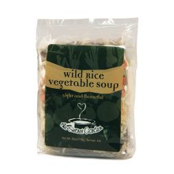 - Wild Rice Vegetable Soup